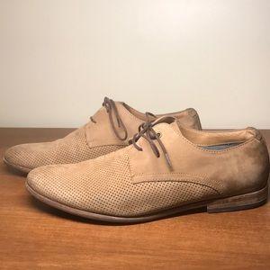 Brown Aldo Men's Leather Dress Shoes